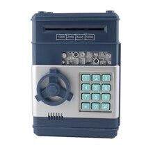 Электронные деньги сейф для сбережения паролей банкомат для монет и купюр код ящика с ключами экономить деньги для детей chirstmas подарки