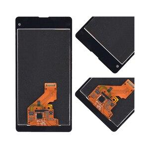 """Image 3 - 4.3 """"ORIGINAL pour SONY Xperia Z1 Compact LCD écran tactile numériseur assemblée pour Sony Z1 Mini écran avec cadre de remplacement D5503"""