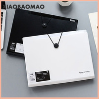 A4 folder binder office organizers 5/8/12 pockets PP Document organizer File folder a4 Fashinable white&black color