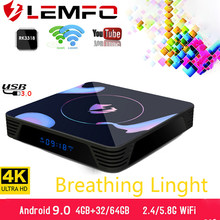 LEMFO LET1 TV Box Android 9.0 4K 6K 8K DDR3 2.4G5G WiFi HDMI2.0a 4G RAM 64G ROM Google Youtube IPTV Smart Box mieux que S905X3(China)
