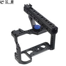 Cage pour caméra et vidéo, Kit de protection pour la fabrication de films, poignée supérieure Arri loccaing Cold Shoe, pour Nikon Z6 Z7 DSLR