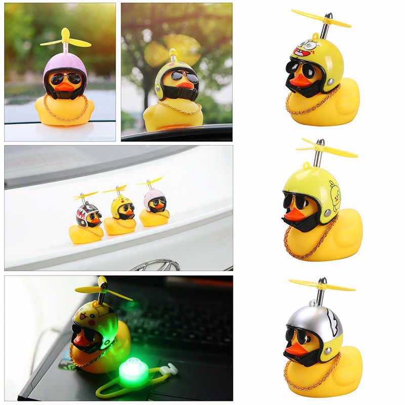 Đứng Vịt Chuông Xe Đạp Vỡ Gió Nhỏ Vịt Vàng MTB Đường Xe Đạp Xe Máy Mũ Bảo Hiểm Đi Xe Đạp Xe Phụ Kiện Với/Không đèn