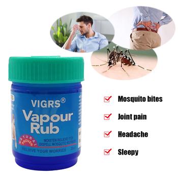 Pary Rub biały chłodzenia balsam maść na przeciw komarom ból głowy ból brzucha ból brzucha zawroty głowy niezbędny balsam tygrys balsam tanie i dobre opinie marisc CN (pochodzenie) BODY