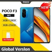 Globale Version POCO F3 NFC 5G 128GB/256GB Smartphone Snapdragon 870 Octa Core 6.67