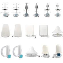 Antena Yagi/LPDA/Omni para interior, Panel/techo, amplificador de señal de teléfono, repetidor y N/conector macho SMA