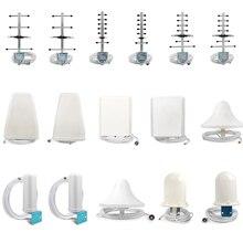 Antenne extérieure Yagi/LPDA/Omni antenne intérieure fouet/panneau/plafond pour répéteur de Signal de téléphone portable et connecteur mâle N/SMA