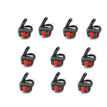 10pcs Motorcycle 22-25mm Handlebar Accident Hazard Light Switch ON OFF Button Motorcycle handle switch accident
