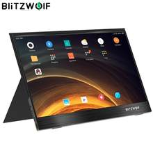 BlitzWolf PCM4, pantalla de 15,6 pulgadas UHD 4K tipo C, portátil, Monitor LCD, para videojuegos, pantalla para consola, Smartphone, Tablet y portátil