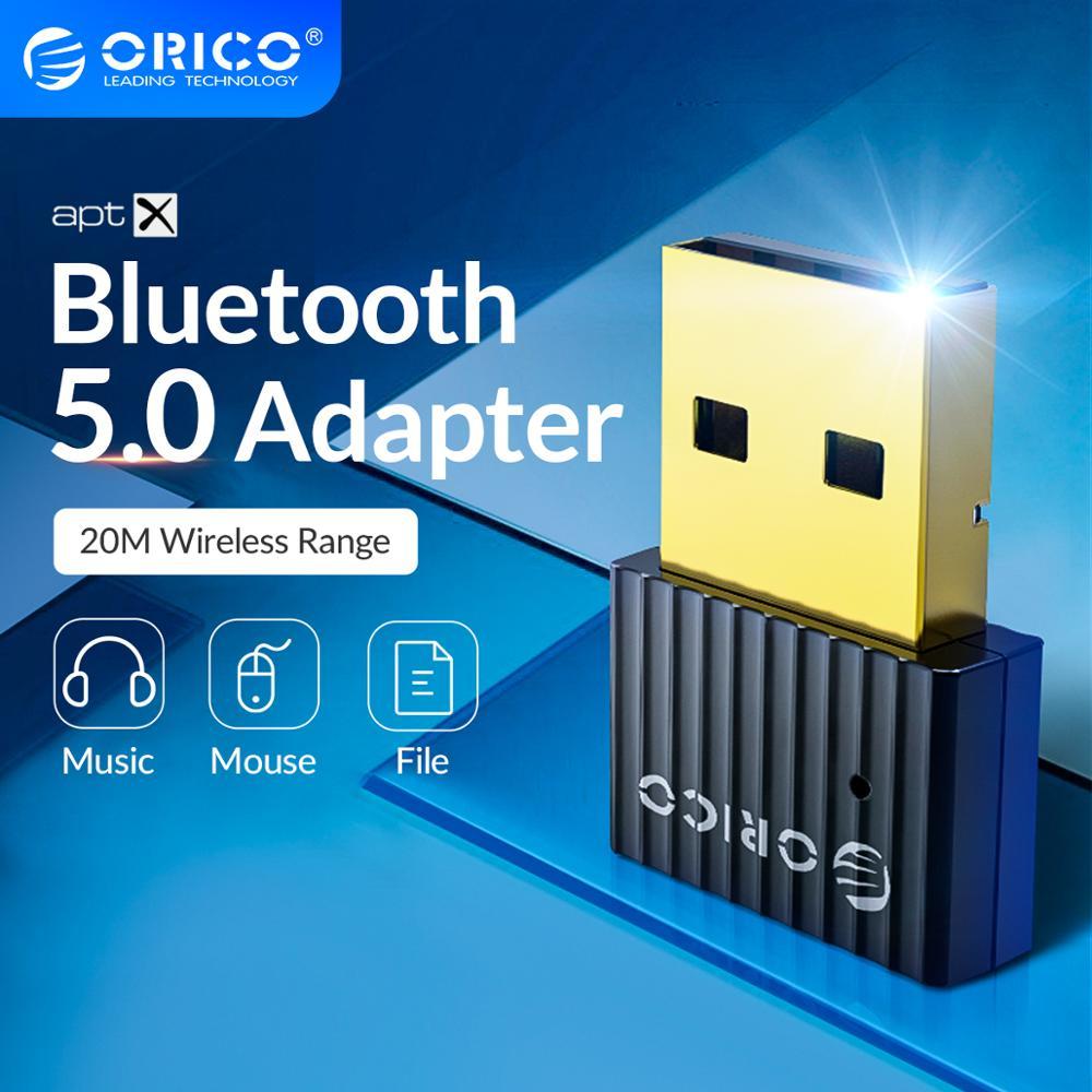 ORICO sans fil USB Bluetooth Dongle adaptateur 5.0 4.0 pour ordinateur haut-parleur souris Bluetooth musique Audio récepteur émetteur aptx