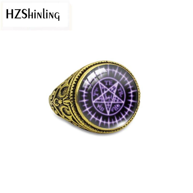 2019 Black Butler Sebastian Seal Antique Adjustable Rings Black Butler Sebastian Seal jewelry Glass Dome Rings