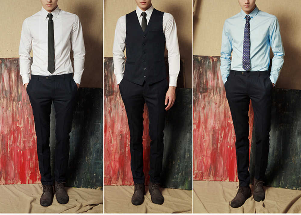 Stile del Collo Cravatta Per Gli Uomini Cravatta Sottile di Colore Solido Cravatta Poliestere Narrow Cravatta Royal Party Formale Cravatta Cravatta Moda Da Sposa 920