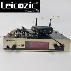 Leicozic 300g3 professional uhf wireless microphone brands cordless microfono g3 microphone lavalier +headset mic wireless 335g3