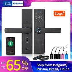 Serrure biométrique d'empreinte digitale de Tuya, serrure intelligente intelligente de sécurité avec le mot de passe d'application de WiFi