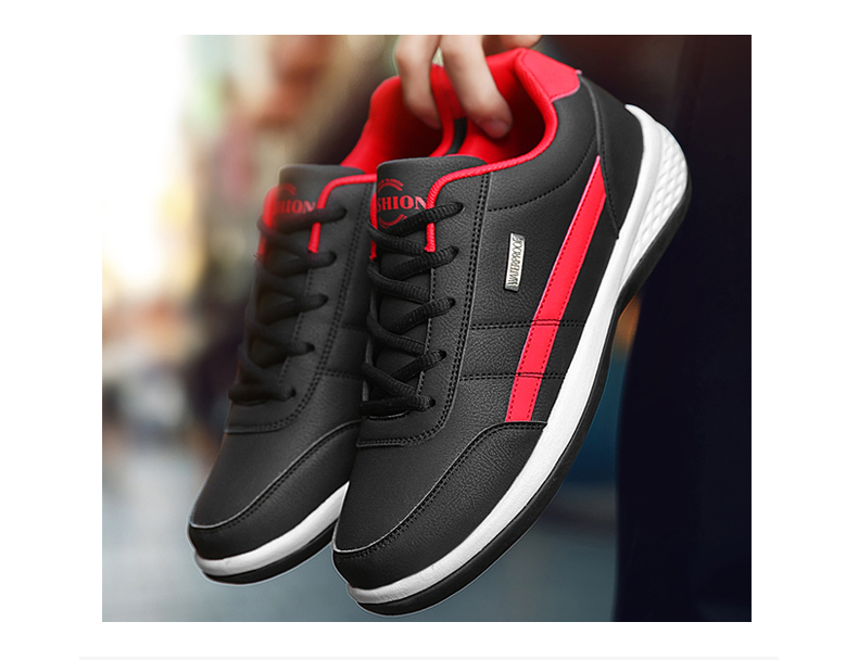 H32e0f954198245b1a19361865eaaced1o - OZERSK Men Sneakers Fashion Men Casual Shoes Leather Breathable Man Shoes Lightweight Male Shoes Adult Tenis Zapatos Krasovki