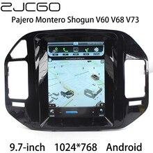 Car Multimedia Player Stereo GPS DVD Radio Navigation Android Screen for Mitsubishi Pajero Montero Shogun V60 V68 V73 1999~2006 lsqstar 7 car dvd player w gps radio aux swc 6cdc tv canbus dual zone for mitsubishi pajero montero