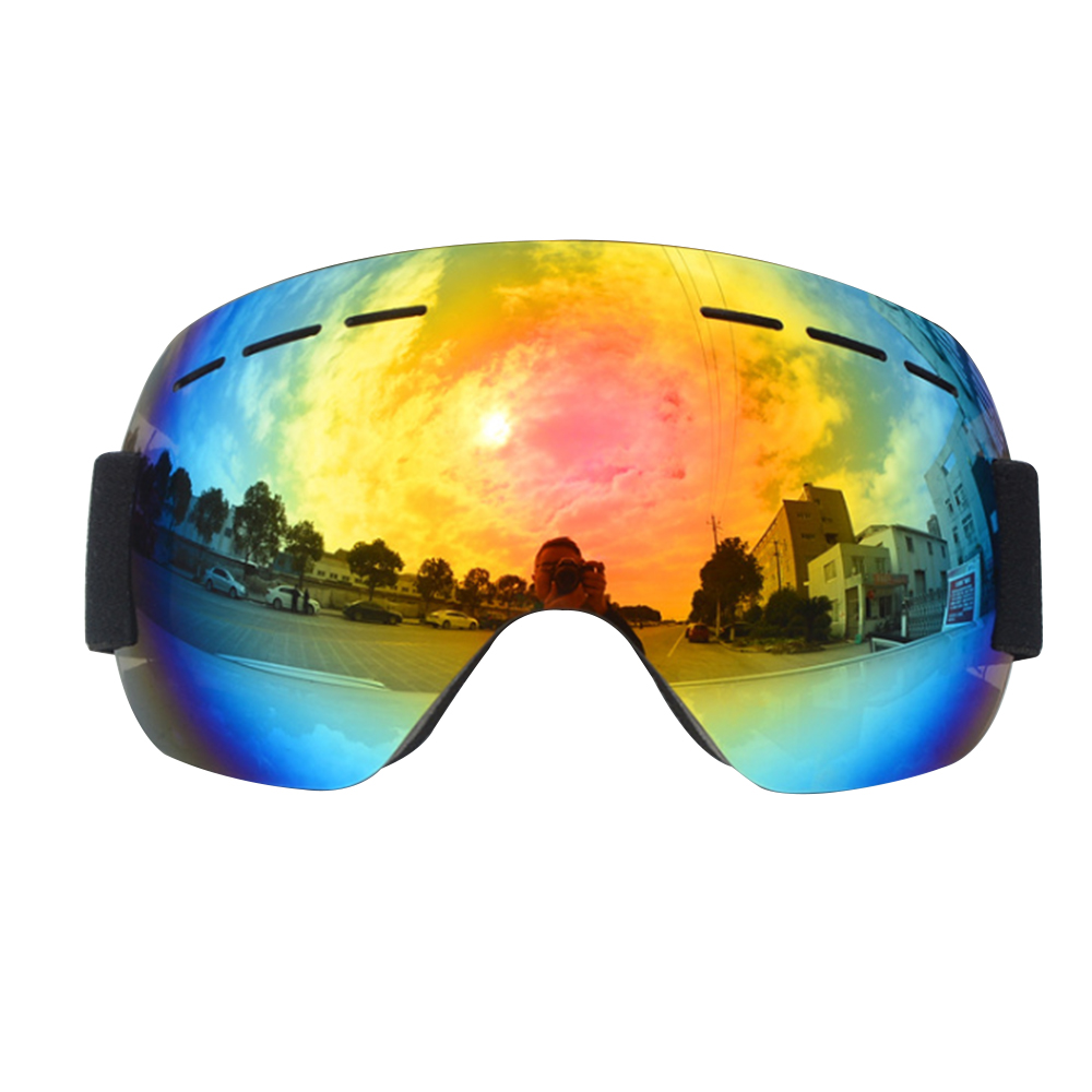 Ski Goggles Double Layer UV400 Goggles Spherical Lens Unisex Anti-fog Winter Snowboard Glasses Snow Ski Mask