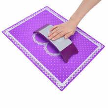 Модная силиконовая подушка ручной держатель Подушка кружева