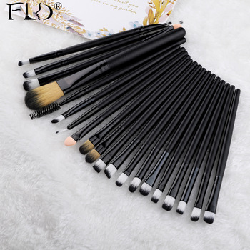 FLD 20 Pieces Makeup Brushes Set Eye Shadow  1