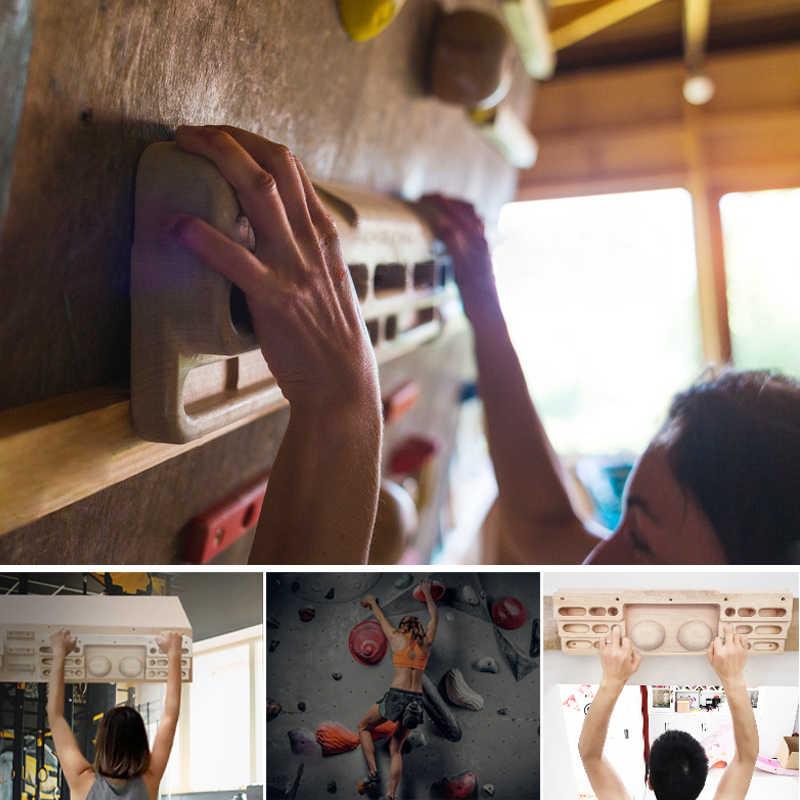 Merek Baik Panjat Tebing Fingerboard Pelatihan Hangboard untuk Pelatih Profesional