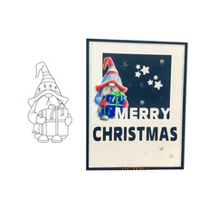 Clear Stamps for DIY Scrapbooking Card Santa Claus Christmas Transparent Stamp Making Photo Album Crafts Template Decor Stamps merry christmas trees sticker painting stencils for diy scrapbooking stamps home decor paper card template decoration album