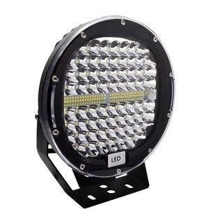 Image 2 - Safego faro LED de 9 pulgadas y 408W para coche, foco de trabajo, antiniebla de conducción, funda negra roja para camión Tractor ATV UAZ SUV 4WD 4x4
