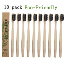 2019 New Natural Bamboo Toothbrush Wood Toothbrushes Soft Bristles Capitellum Fiber Toothbrush Eco-Friendly Dental Care Tools