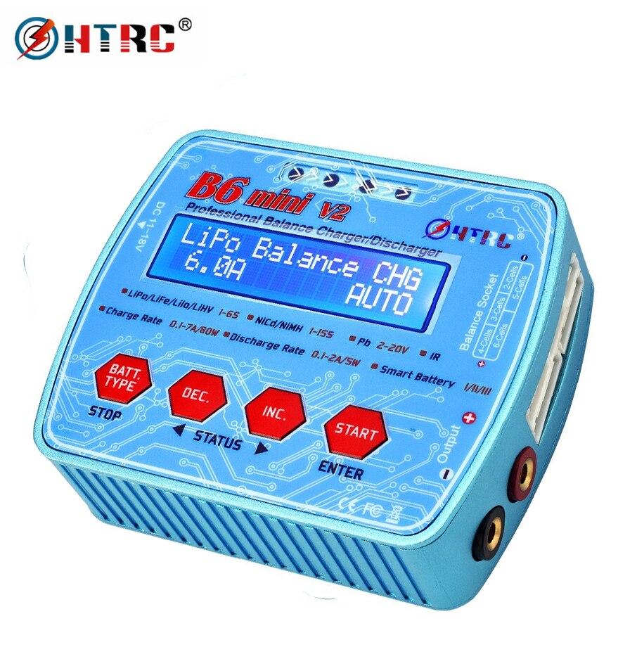 IMAX B6 Mini V2 80W 7A professionnel numérique RC modèle Balance chargeur chargeur pour Lipo Lihv LiIon vie NiCd NiMH batterie HTRC-in Pièces et accessoires from Jeux et loisirs    1