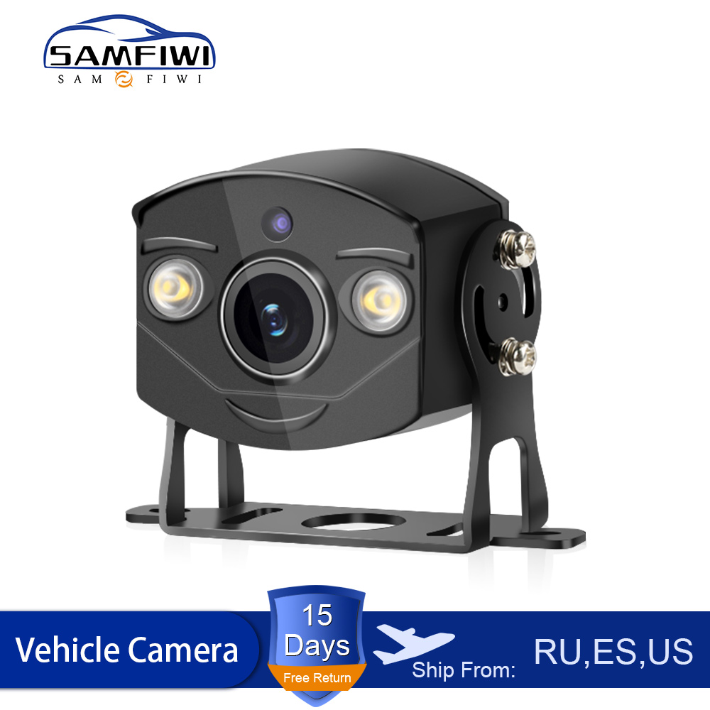 NEW Light Sensor HD Car Rear View Camera Universal LED Anti Fog Night Vision CCD Backup Parking Reverse Camera 12V-24V