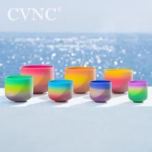 """Cvnc 6 12 """"ャクラクリスタルシンギングボウル432 60hzの虹色注cdefgab"""