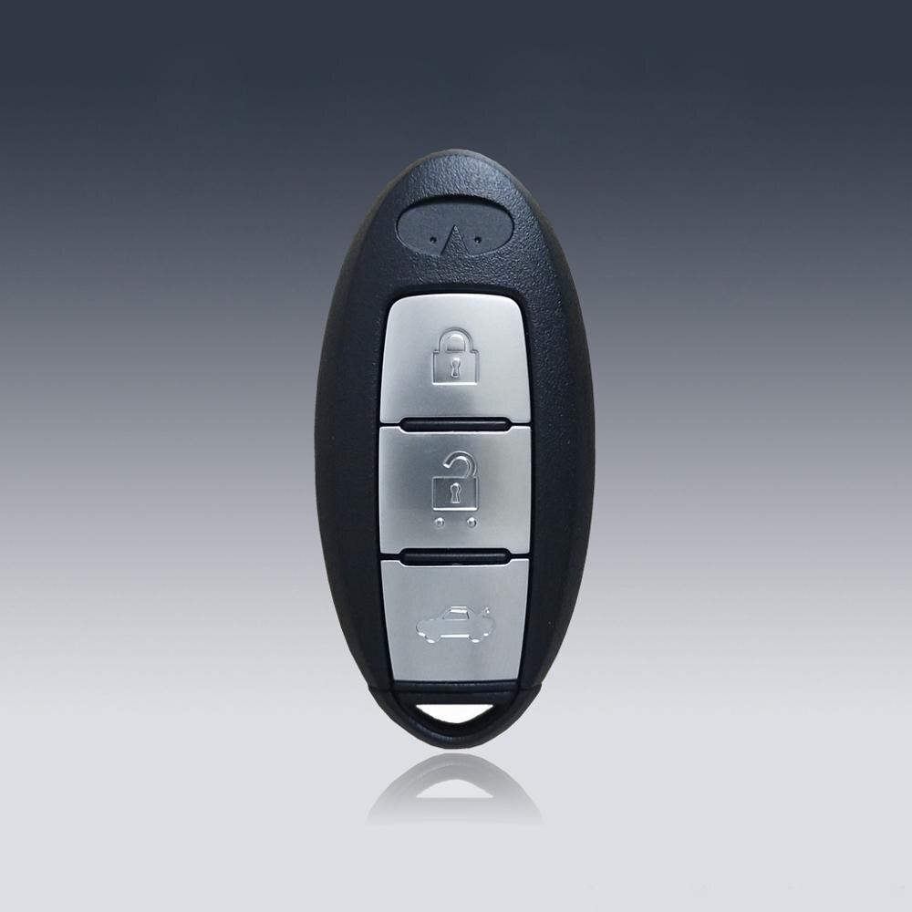 Автомобильный БЕСКЛЮЧЕВОЙ умный дистанционный ключ 433 МГц с чипом ID47 для Infiniti JX35 QX60, умный дистанционный ключ