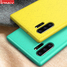 for Samsung Note 10 Case IPAKY Liquid Silicone Soft Case Note 10 Plus Shell Gel Shockproof Cover for Samsung Galaxy Note 10 Case(China)