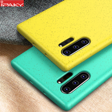for Samsung Note 10 Case IPAKY Liquid Silicone Soft Case Not