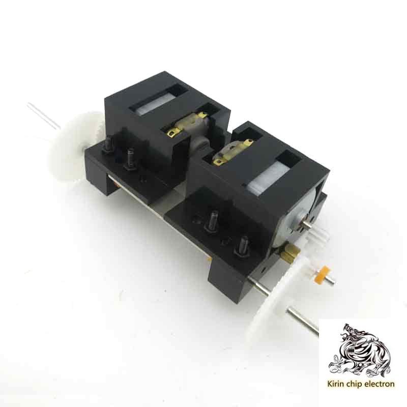 5PCS/LOT C2A Gear Box Reducer Diy Technology Small Production Of Dual-drive Car Motor Dual-axle Moto