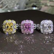 Женское кольцо из серебра 925 пробы 3 цвета