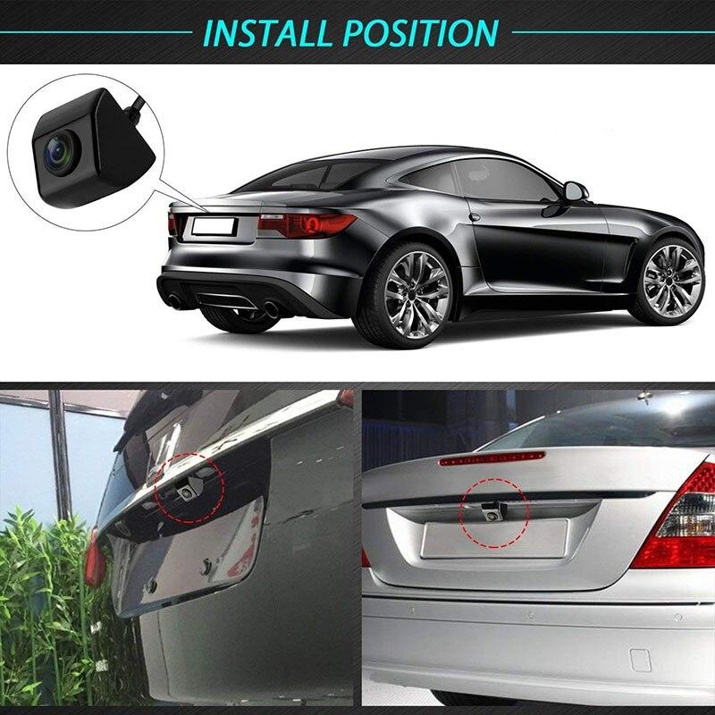 Waterproof 170 Degree Viewing Angle Parking 360 degree rotating Back-up Camera