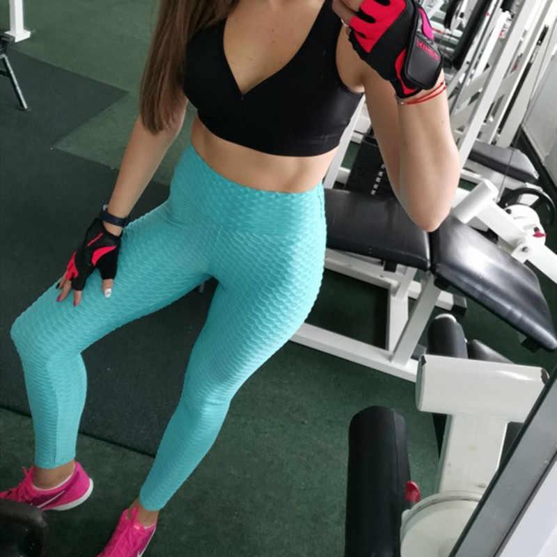 Женские легинсы для фитнеса NORMOV, однотонные классические дышащие легинсы пуш-ап с высокой талией, для тренировок, 6 цветов