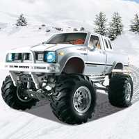 HG P407 RC Car 1:10 2.4G 4WD 3CH Machine Radio Controlled Car Metal High Speed RC Vehicle Rock Crawler RTR Toys for Kids