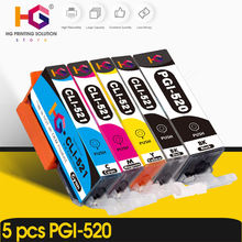 5 шт pgi 520 cli 521 для canon pixma ip3600 ip4600 ip4700 mp540