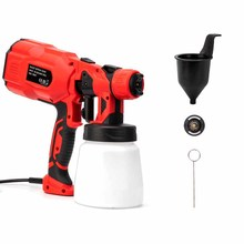 Electric Spray Gun Paint Sprayers High Power Home Electric Airbrush For Painting Cars Furniture Wall Woodworking Paint Sprayer