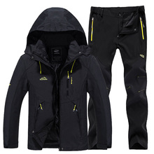 חדש עבה חם סקי חליפת נשים עמיד למים Windproof סקי וסנובורד מכנסיים מעיל סט נשי שלג תחפושות חיצוני ללבוש