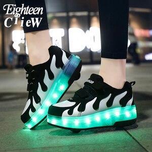 2020 New Glowing Sneakers on W