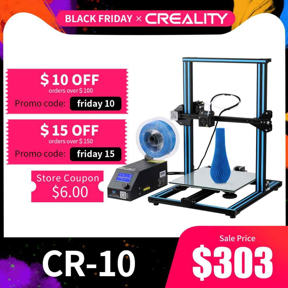 Creality 3D CR-10S CR-10 S4 CR-10 S5 CR-10 Opsional, dua Z Rod Filamentdetect Resume Power Off Opsional 3D Printer DIY Kit