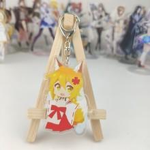 Porte-clés en acrylique à Double face, personnage de l'anime Fox senko-san Sewayaki Kitsune no senko-san Senko, pendentif décoratif