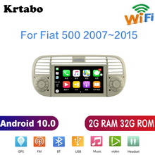 עבור פיאט 500 2007 ~ 2015 רכב רדיו אנדרואיד מולטימדיה נגן HD מסך GPS ניווט תמיכת Bluetooth WIFI