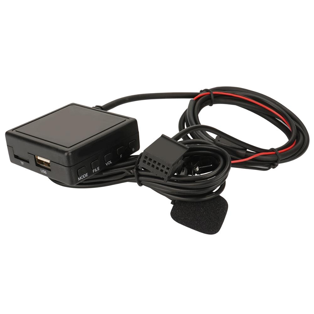 Автомобильный радиоприемник Bluetooth AUX аудио USB телефонные звонки Handsree для OPEL CD30 CD70 стерео Aux кабель адаптер беспроводной аудиовход