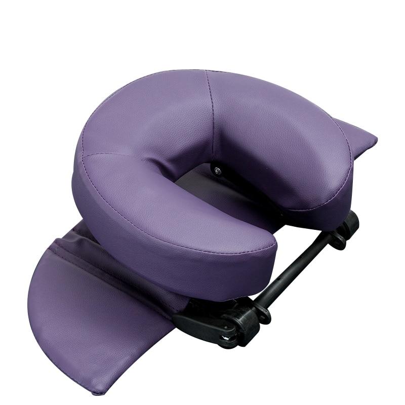 Home Massage Kit - Deluxe Adjustable Headrest & Face Pillow / Home Massage Beauty Cradle Rest Pad For Desk&Tabletop