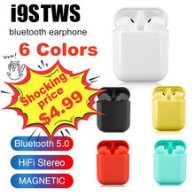 I9s TWS colorful Wireless mini Bluetooth Earbuds Wireless Headphones stereo Port