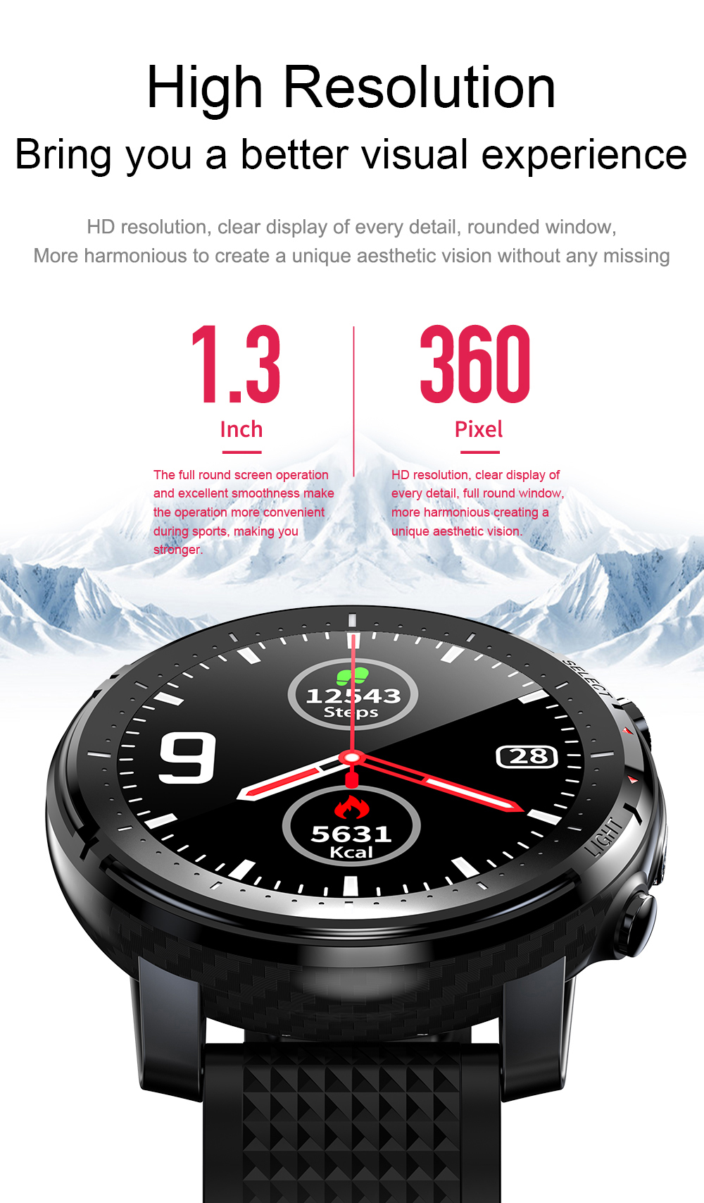 2020 New HERALL Smart Watch Men Women Smartwatch ECG Heart Rate Blood Pressure Monitor Sport Waterproof Watches For Android iOS