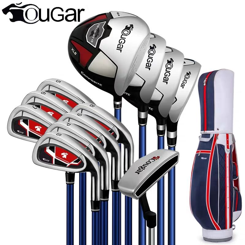 Brand Cougar Full Mini Half Mens Golf Clubs Complete Set Full Golf Irons Set Graphite Shafts Golf Set Golf Clubs Branded