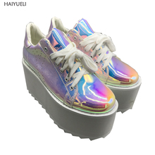 Women Shoes Autumn Punk Shoes Casual Cre
